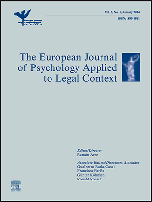 The European Journal of Psychology Applied to Legal Context